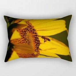 Best little pollinator Rectangular Pillow