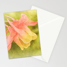 Soft Aquilegia Stationery Cards