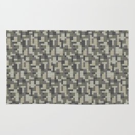 Legobricks camouflage Rug