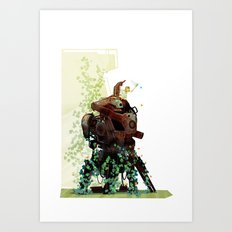The Blue One Art Print
