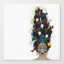 The Voodoo Queen Canvas Print