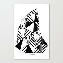 Ijsberg Canvas Print