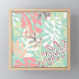Matisse Pattern 005 Framed Mini Art Print