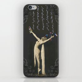 Those Flying Fish under the Fairy Lights iPhone Skin