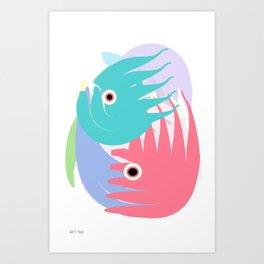 I Got A Fishtank Art Print