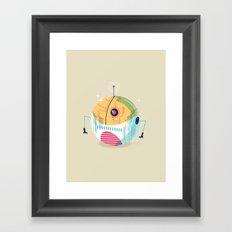 :::Mini Robot-Sfera2::: Framed Art Print
