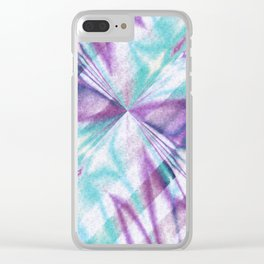 Pattern 7 Clear iPhone Case