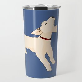 Terrier barking Travel Mug