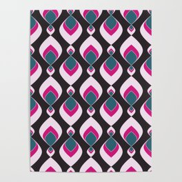 Multi-colored pattern . Poster