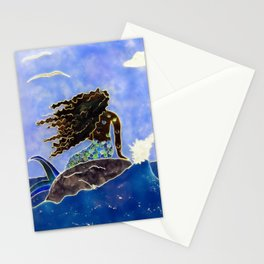 Lady of the Atlantic Crossing Stationery Cards