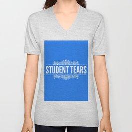 Student Tears Unisex V-Neck