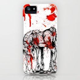 Deer Drip iPhone Case