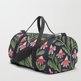 The Red Flowers Duffle Bag