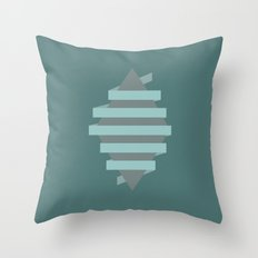 Wrapped Diamond Throw Pillow