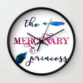 The Mercenary Princess Wall Clock
