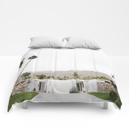 , California Wall Art, Palm Springs Comforters