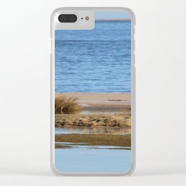 At the beach 6 Clear iPhone Case