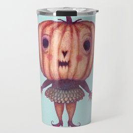 Pumpkin Witch Travel Mug