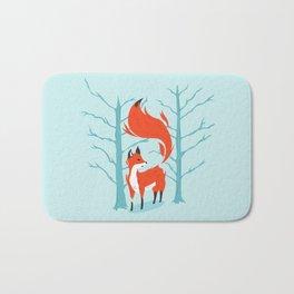 Winter Fox Bath Mat