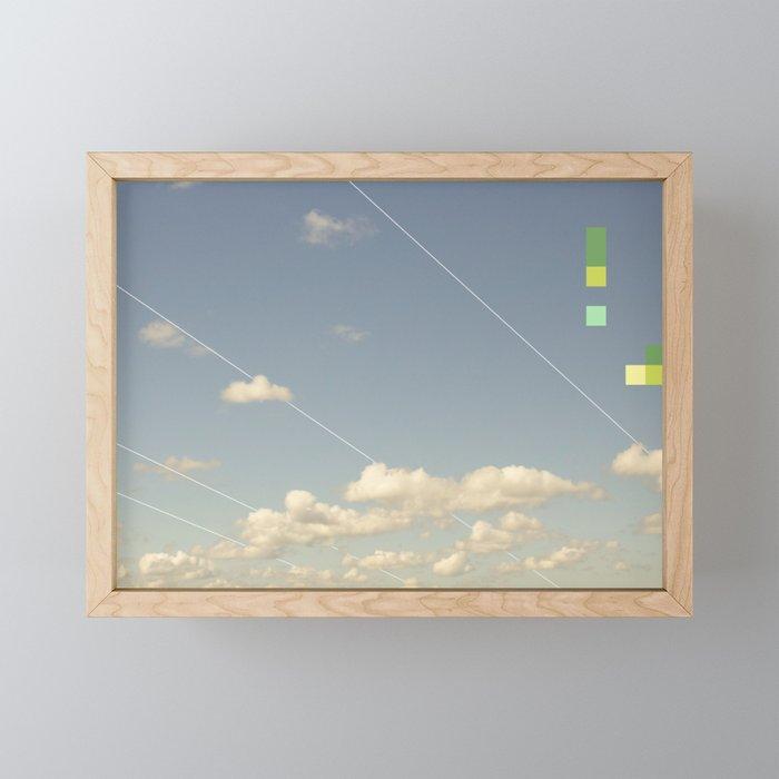 Cloud Study 107: Midwest Stretch Framed Mini Art Print