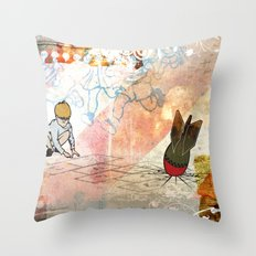 The Games We Play Throw Pillow