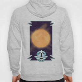 50's vintage space art. Hoody