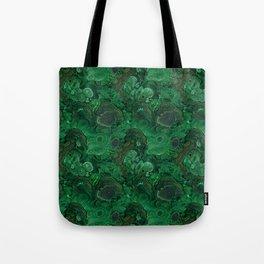 malachite Tote Bag