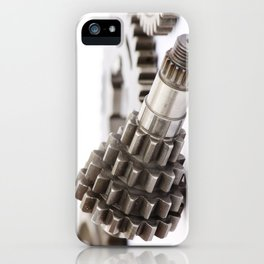 Pinion gear iPhone Case