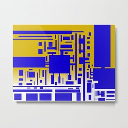 Circut Board Metal Print