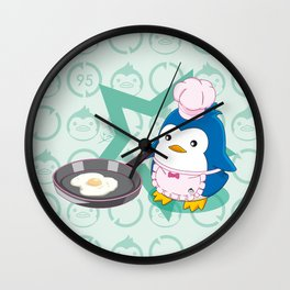 N°2 - Chef Wall Clock