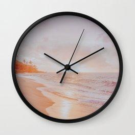 summer sunset xiv Wall Clock