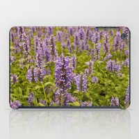 lavender iPad Cases featuring lavender by Julio O. Herrmann