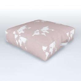 pastel planet Outdoor Floor Cushion