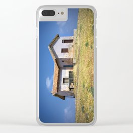 House on the hill Clear iPhone Case