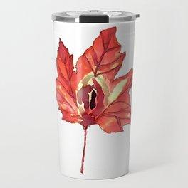 Vulvas in Nature: Maple Travel Mug
