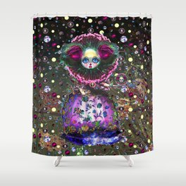 Black Forest Bride Shower Curtain