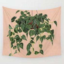 Heart Leaf Philodendron Wall Tapestry
