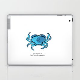 in a pinch  Laptop & iPad Skin