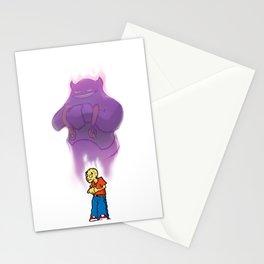 Scared Boy Stationery Cards