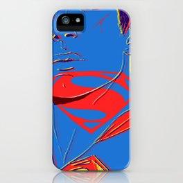 S U P E R M A N (BvS) iPhone Case