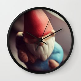 My Gnomie Wall Clock