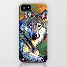 Aura of the Wolf iPhone Case