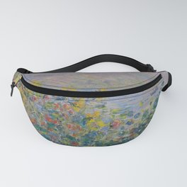Claude Monet  -  Flowers Beds At Vetheuil Fanny Pack