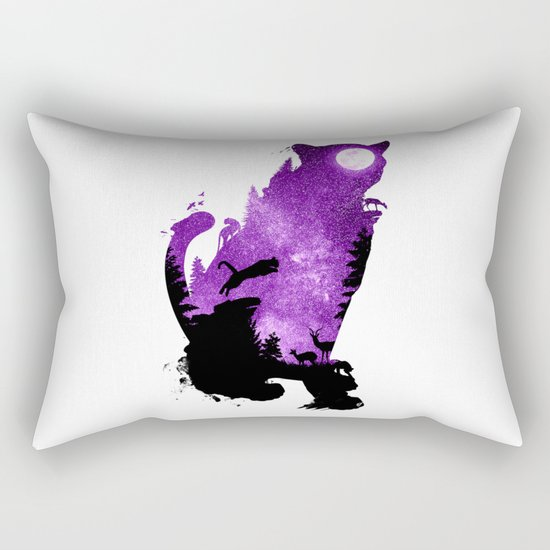 Into the Dark Rectangular Pillow