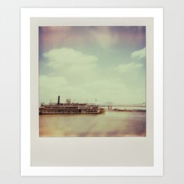 Mississippi River Art Print