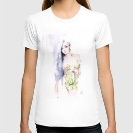 To heal - watercolour illustration T-shirt