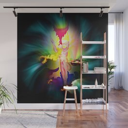 Heavenly appearance angel Wall Mural