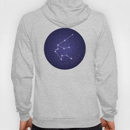 Aquarius zodiac stars constellation Hoody