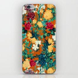 Orange Garden iPhone Skin