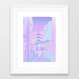 Pastel Memories Framed Art Print